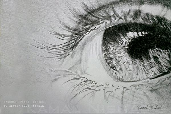 完美的24套手繪眼睛欣賞