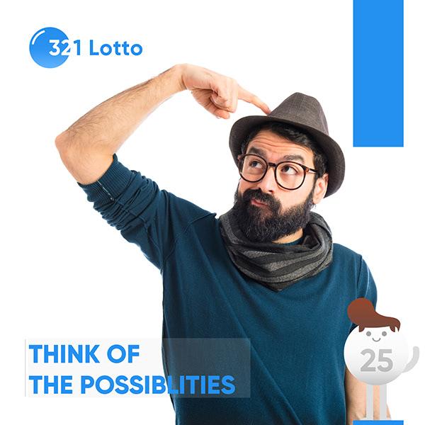 321Lotto Social Media Design