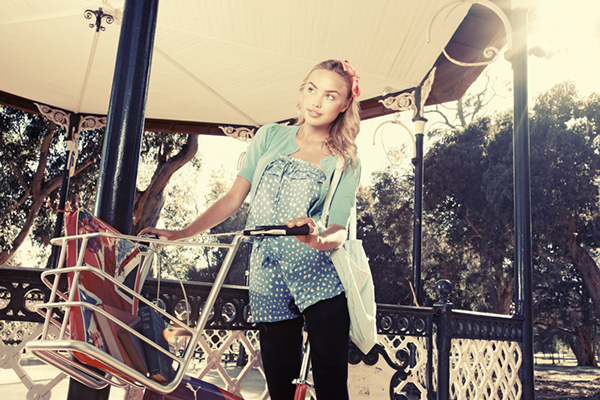 Urban Fashion Shoot For Bicycling Sa Magazine On Behance