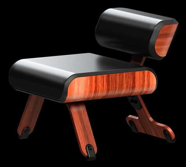 Meditation Chair On Furniture Served