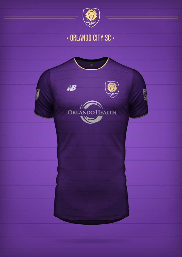 New Balance Orlando City SC Concept Kit