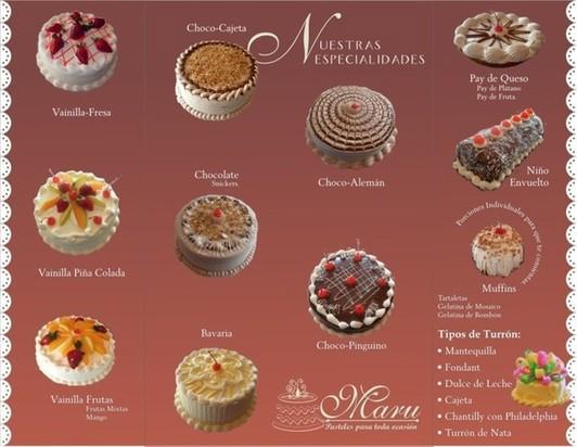 Cake Shop Menu On Behance