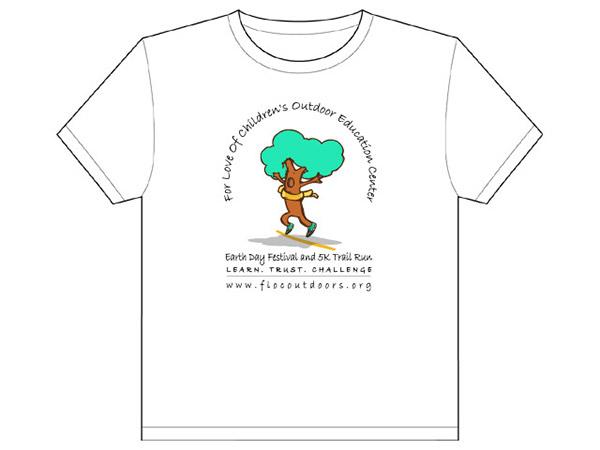 t-shirt 5K Run charity Tree
