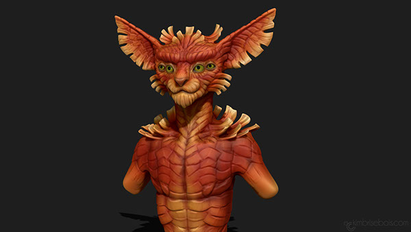 Zbrush Speed Sculpt Sessions on Student Show