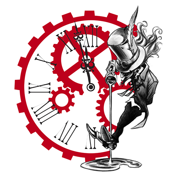 Alice in wonderland stopwatch