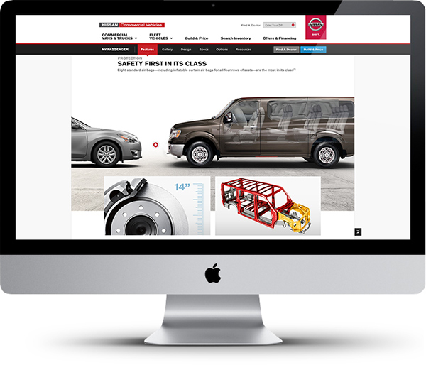 Nissan Commercial Vehicles Redesign On Pantone Canvas Gallery