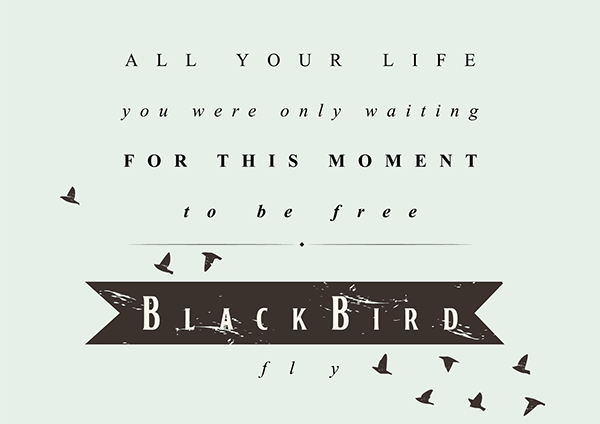 The Beatles Lyric Quotes On Behance