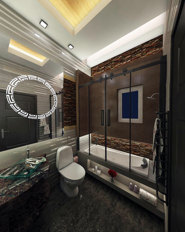 modern bathroom qatar on behance On bathroom furniture qatar