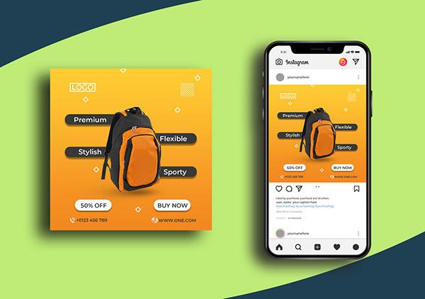Social Media Post Templates I Social Media Banner Ads