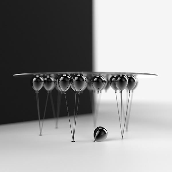 UP Balloon Table