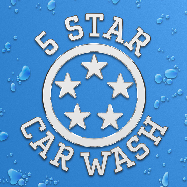 5 Star Car Wash On Behance