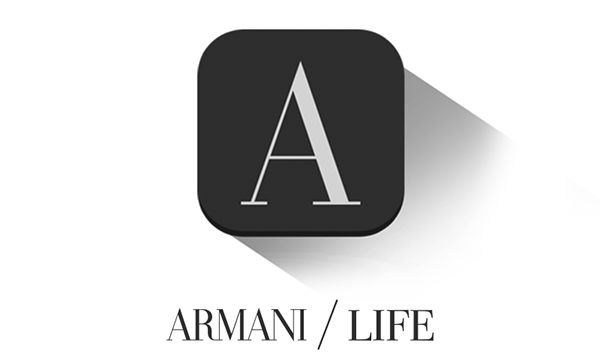 armani lifestyle application