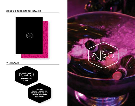 restaurant Nero logo bar