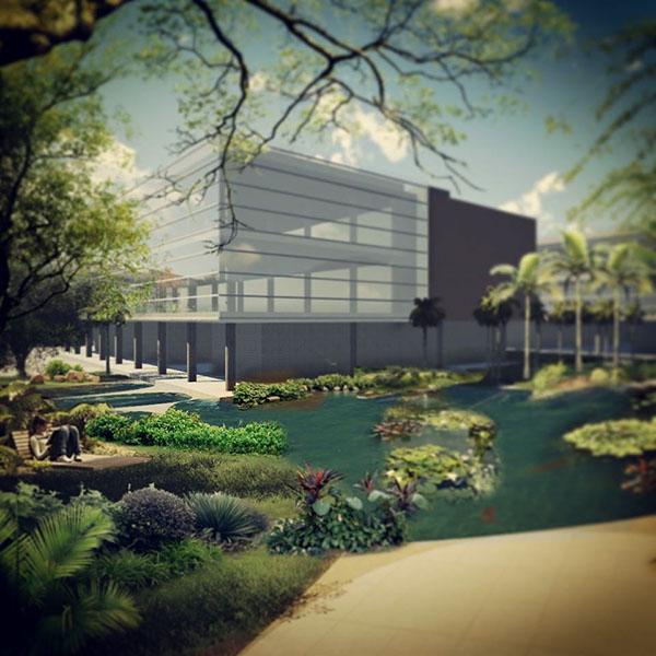 Paisajismo garden public space offices