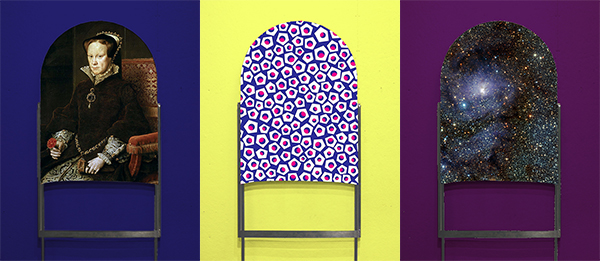 sfumato Sink chair Lounge Chair furniture seating fabric textile stretch matthew lim risd metal welding spandex easy chair