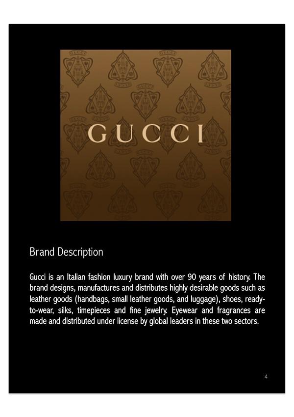 gucci brand analysis essay