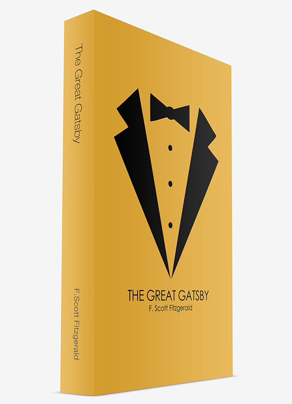 Book Cover Layout Bangalore ~ Great gatsby book cover design on behance