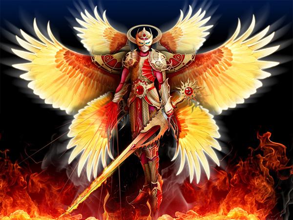 Six Winged Seraph On Behance