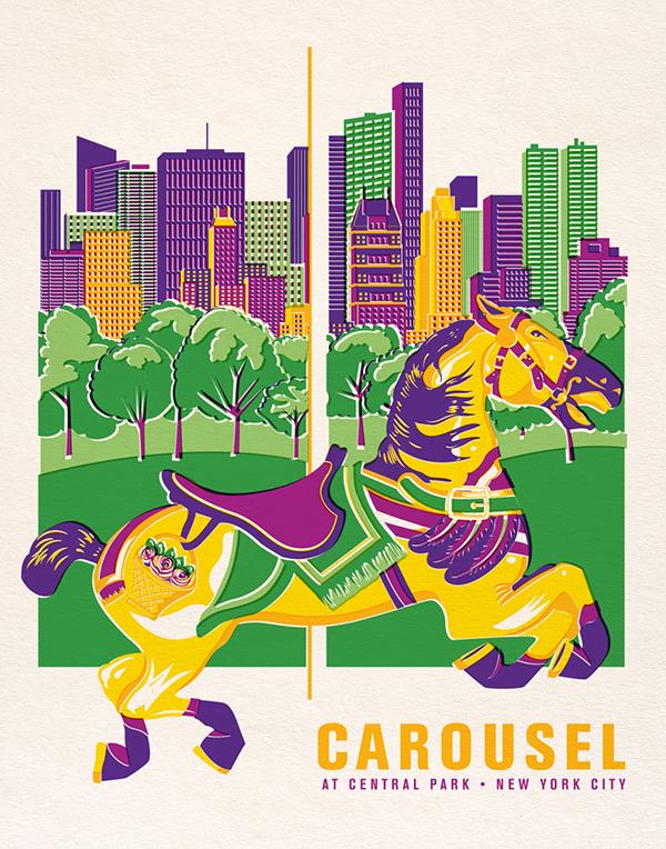 Central Park Nyc Carousel Central Park Carousel