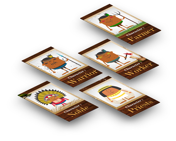 restaurant Marimba infographic characters video advert