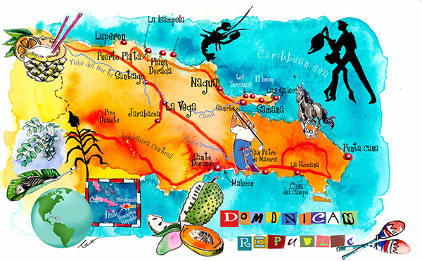 art maps havana st barts bermuda dominican rep on behance
