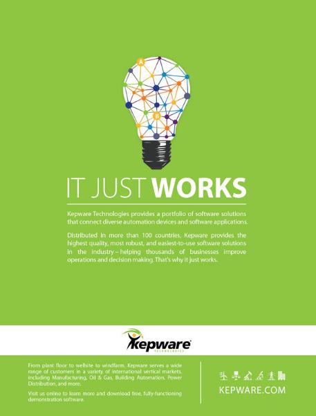 Gretchen Walker - Kepware Technologies Ad