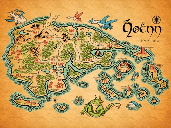 Map of Hoenn 3590df1a45b7515e58b896cfbe0decf1