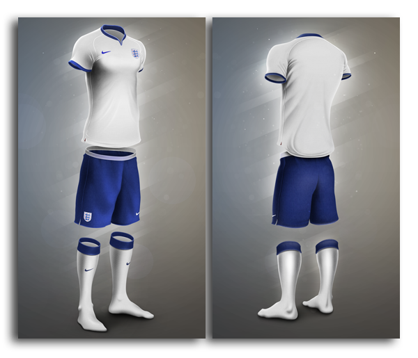 Football Kit Template On Behance