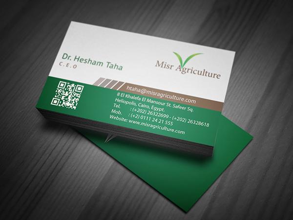 misr agriculture logo business card design on behance