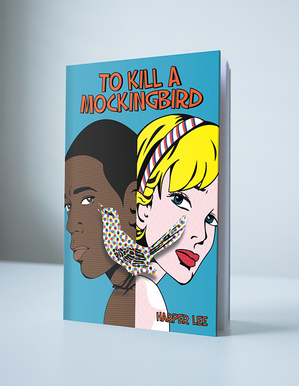 Book Cover Artist Pay : To kill a mockingbird book cover on behance