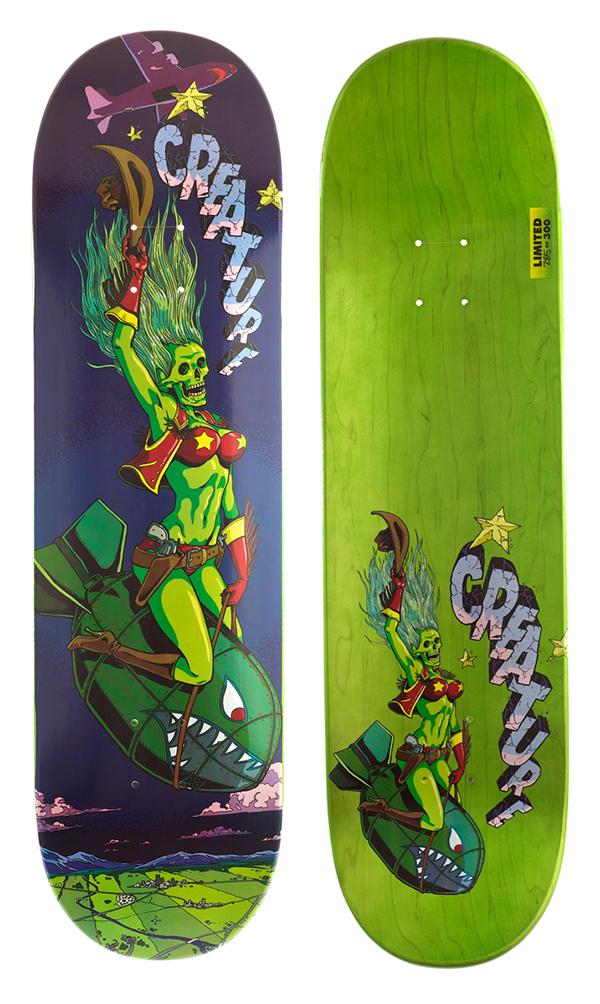 Creature Skateboards: Atomic Bummer on Behance