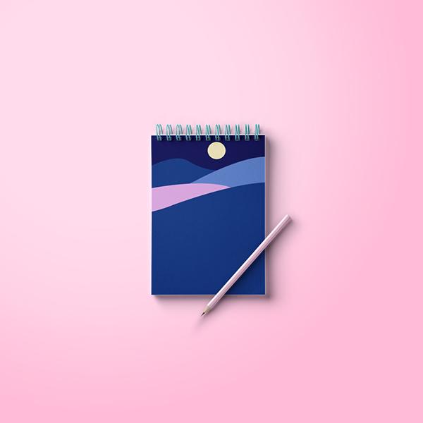 優秀的23款筆記本封面設計欣賞