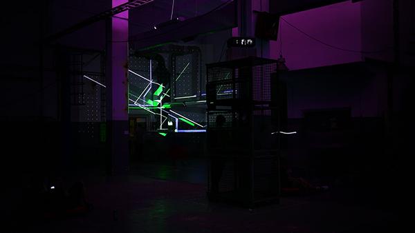 NAWER TEMPORARY SPACE DESIGN instalation Mapping festiwal przestrzeni miejskiej festival