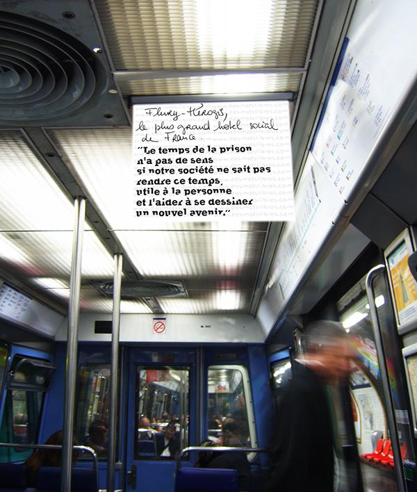 des mots libres 10 musée marginal memoire trace choeurs en scène georges rousse desert blue