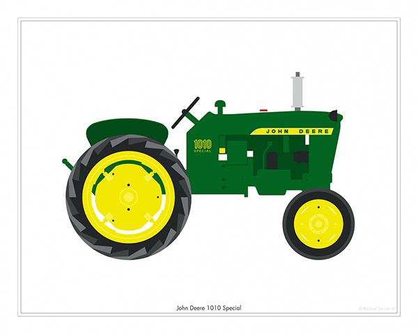 John Deere Tractor Cartoon Prints : Vintage tractors on behance