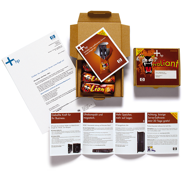 Hewlett Packard Direct mail