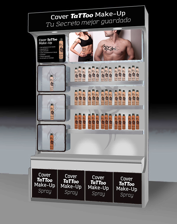 Make Up,tattoo,skin,poster,spray,spray can,Display