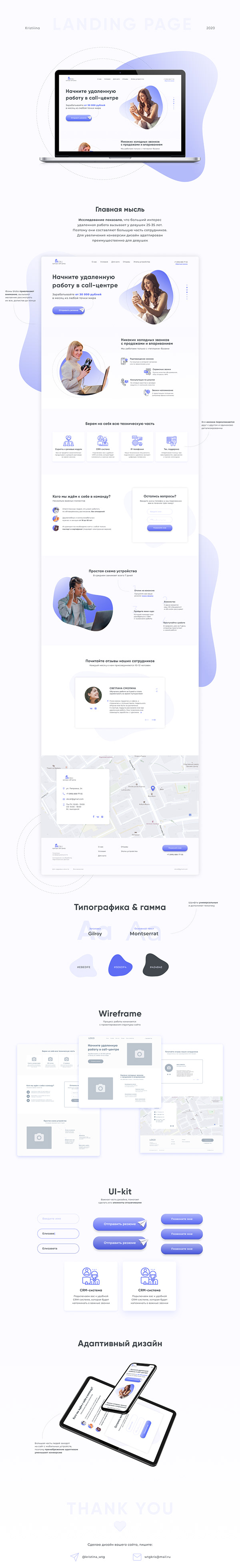 Call Center | Landing Page