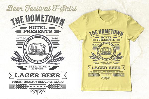 beer festival t shirt design template on behance ForT Shirt Design Festival