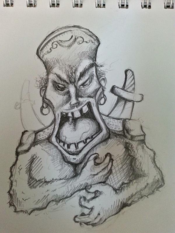 Darkelf İllustrasyon çalışmalarım