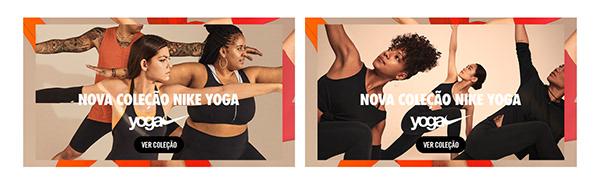 Nova coleção Nike Yoga - Respire. Alongue-se. Mexa-se