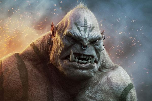 Mad Ogre by Fabricio Moraes