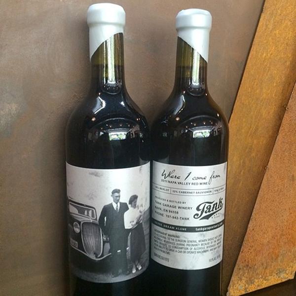 bmd design tank garage winery - Tank Garage Winery