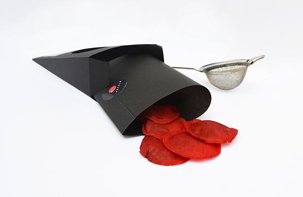 bottle Label minimalist black labels tea Coffee clean simple fancy drink box petal flower rose