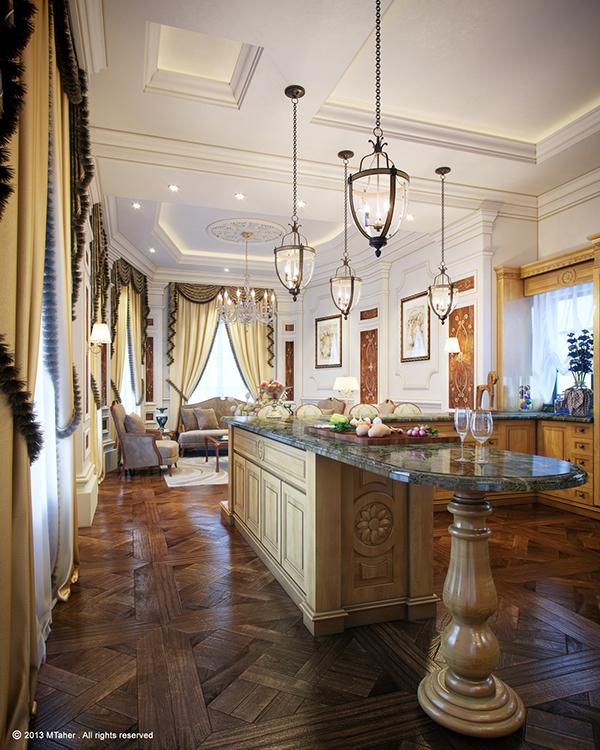 Luxury Classic Kitchen On Behance