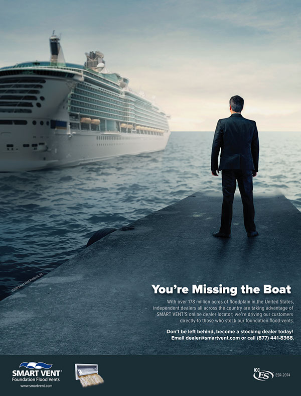 Missing the boat image composition on behance for Hanley wood magazines