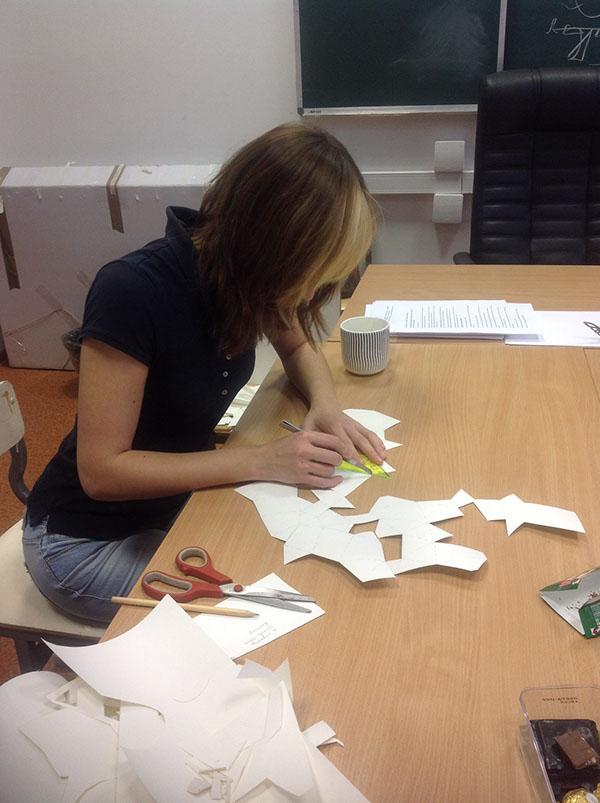 My Dear Deer Paper Craft