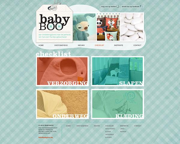 baby checklist,Webdesign,Webdevelopment,html&css