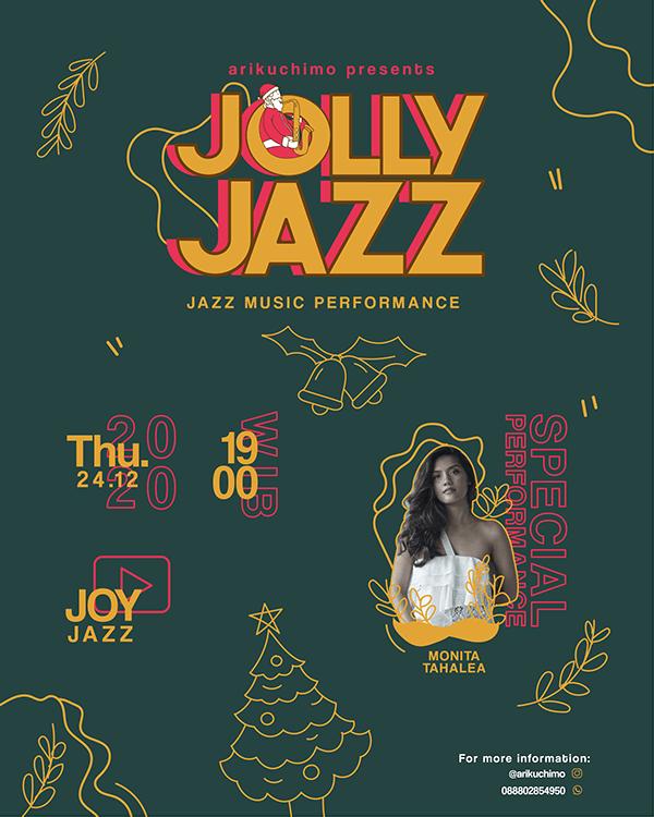 Jolly Jazz Poster Design