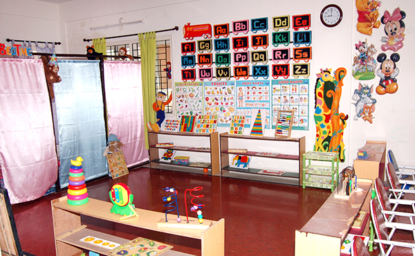 happy kids play school interiors on behance